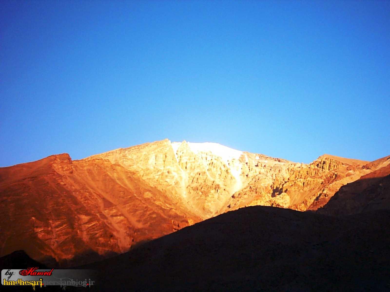 صبح روز دوم از پهن چشمه